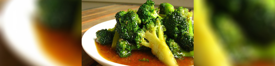 Recipe - Broccoli with Asian Dressing
