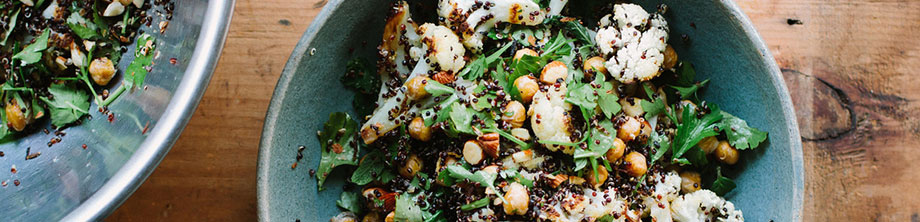 Recipe - Roasted Cauliflower with Cumin Coriander Almonds