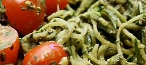 Recipes - Basil Pesto Pasta