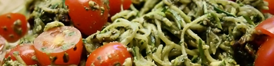 Recipes - Basil Pesto Pasta
