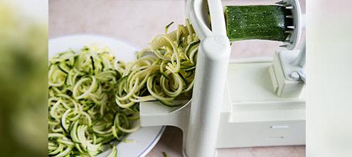 Recipes - Spirilised Raw Spaghetti