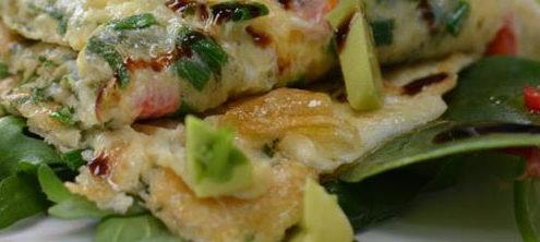 Green Veg Omelette